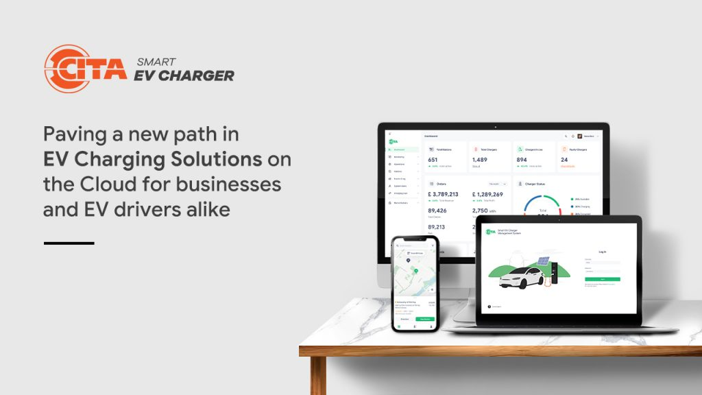 CITA Smart EV Charger Cloud Software Press Release